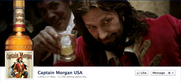 captain morgan facebook cover photo