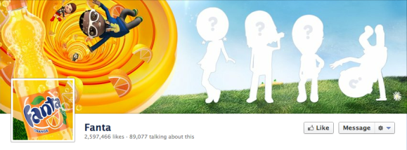 fanta facebook cover photo