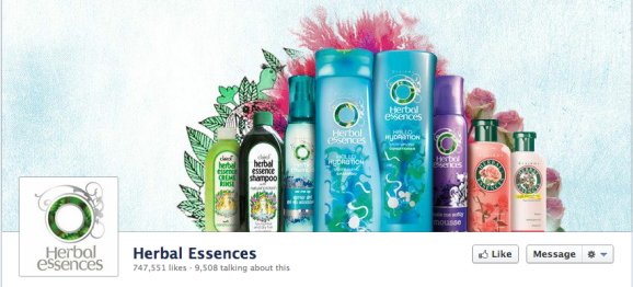 herbal essence facebook cover photo