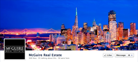 mcguire real estate facebook cover photo