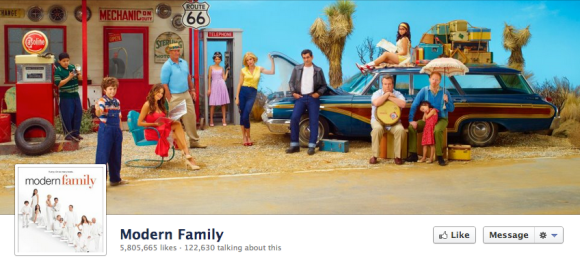 modern family facebook cover photo