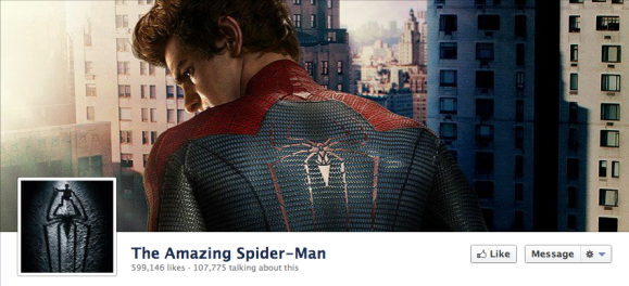 spiderman facebook cover photo