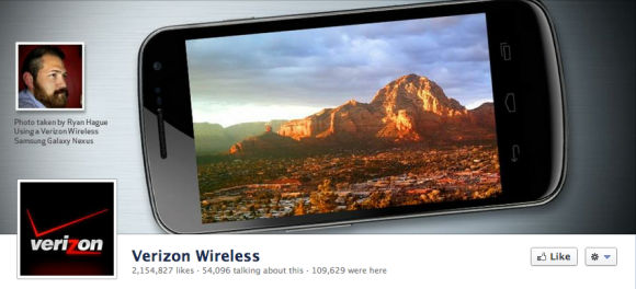 verizon facebook cover photo
