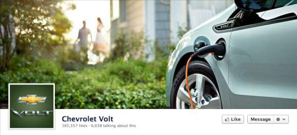 chevy volt facebook cover photo